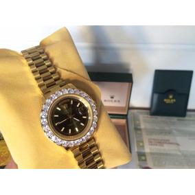 85dc8e36405 Rolex Cravejado - Melhor Preço Do Brasil - Com Video · R  750