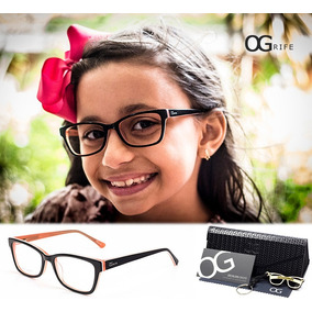 Armação Oculos Grife Og 144 C P  Grau Masculino Original - Óculos no ... 753a011916