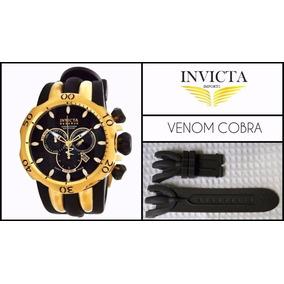 f437076d62f Pulseira Invicta Venom Reserve Azul - Relógios no Mercado Livre Brasil