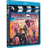 Blu-ray Monster High: Monstros, Câmera, Ação (lacrado) Novo