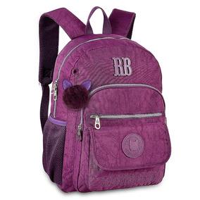 Mochila Escolar Juvenil Clio Style Rebecca Bonbon Rb9130