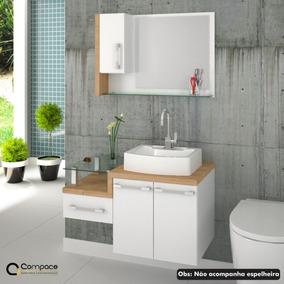 Gabinete Armário P/banheiro (balcão+cuba Rt41) Legno 830