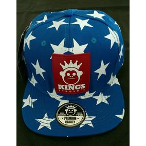 7063b43244be0 Bone Aba Reta Kings Sneakers - Bonés no Mercado Livre Brasil