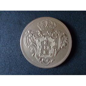 Moéda Brasil 1783 6.400 Réis Réplica Revestida Ouro 1000