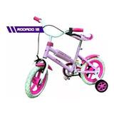 Bicicleta Infantil Rodado 12 Niña O Niño Soundgroup Palermo