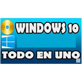 Win 10 Todo En Uno Varias Versiones. 32 Y 64 Bits. Activad