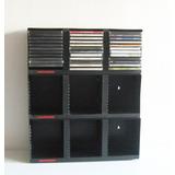 Estante Repisa Muebles Mensula Porta Dvd Cd Ps3 U Zona Norte.   400. 81  vendidos - Buenos Aires. Modulos Porta Cd Dvd Plastico Laserline Apilables  36 Un. C  ... a3a58ed423fa