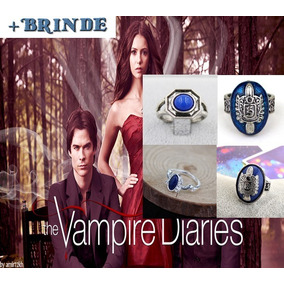 Anel Damon Salvatore Vampire Diaries - Joias e Relógios no Mercado ... 15ec5d028c
