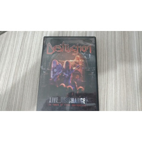 Destruction Live Discharge 20 Years Dvd Of Total Destruction