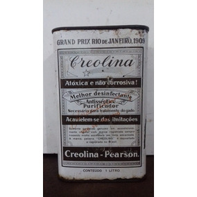 Lata Creolina - Pearson - Desinfectante