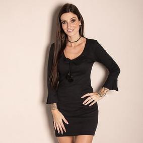 49ca4bb77 Vestido Canelado Gg - Vestidos Casuais Médios Femininas no Mercado ...