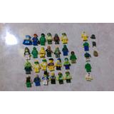 Lote De 24 Figuras Lego Originales