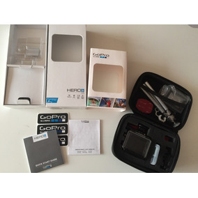 Câmera Gopro Hero+ Lcd Com Case E Kit Gopro