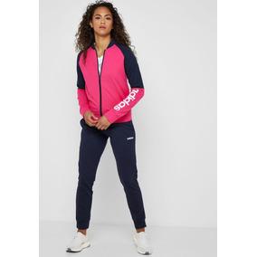 1c0823d9d25 Agasalho Conjunto Adidas Feminino Rosa - Calçados