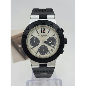 Reloj Bvlgari Diagono Cronómetro Automático Aluminio Vrlp
