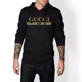 Blusa Moletom Gucci Classic Canguru 9b89cf2e92c