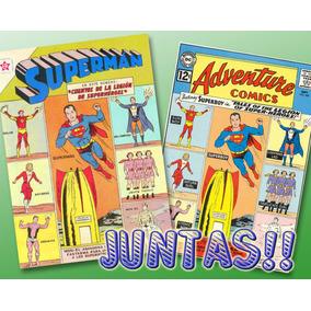 Superman 396 + Adventures 300 Legión De Superhéroes-digital