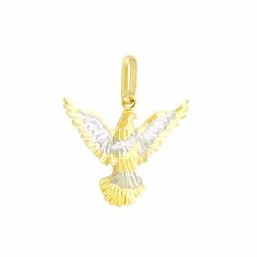 Pingente Ouro 18k750 Divino Espírito Santo - Joias e Bijuterias no ... 79dd2444f0
