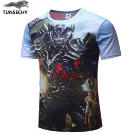 Playera De Transformers Autobots Optimus Prime