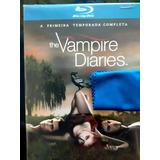 Diários De Um Vampiro Em Bluray Temp. 1 A 4 Original.