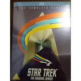 Box Blu Ray Star Trek A Série Original Completa Lacrado