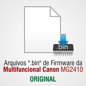 Arquivo De Firmware (.bin) Da Canon Mg2410