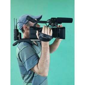 Filmadora Profissional Sony Hxr Nx3 Super Conservada.
