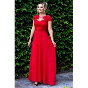 Vestidos Femininos Moda Evangélica Longos Madrinha Gloria