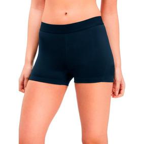Calza Corta De Mujer Short Deportivo De Algodón Con Lycra