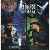 Cd Fernado & Sorocaba - Acústico