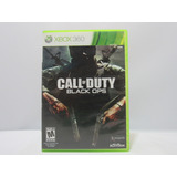 Call Of Duty: Black Ops -xbox 360 ¡fisico-usado!