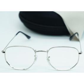 Armacao Masculino Hexagonal - Óculos no Mercado Livre Brasil 612c4487a9