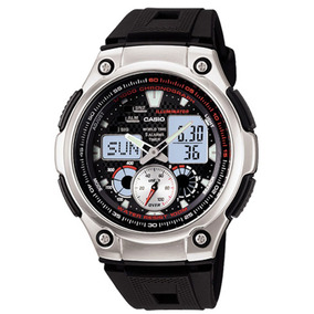 63c92230a68 Relogio Casio Illuminator Aq 180w - Relógios no Mercado Livre Brasil
