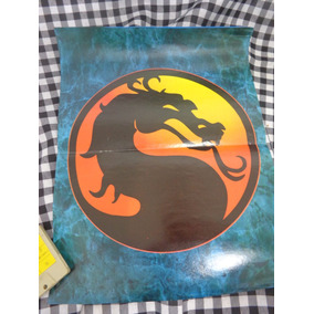 Poster Raro Do Jogo Mortal Kombat Em 2 Páginas