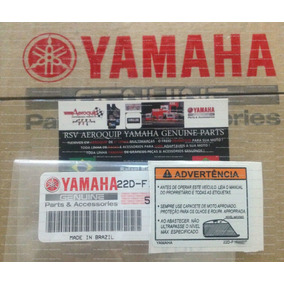 Etiqueta Advertencia Tanque Xt 660r Original Yamaha 0km