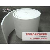 Fieltro Industrial Fibra Sintetica 1/2pulg .50cm