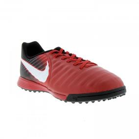 f135537027 Chuteira Society Nike Tiempo Vermelha - Chuteiras no Mercado Livre ...