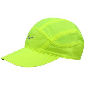 Boné Nike Verde Fluorescente - Bonés Nike no Mercado Livre Brasil 832ad9fd89a