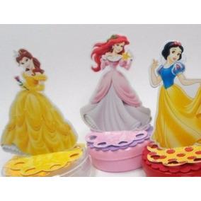 50 Princesas Para Latinha 3d Caixinha De Acrílico