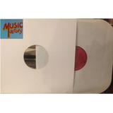 5 Capa Disco Vinil 12 + Envelope Int Papel + Plastico Ext