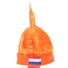 Peluca Anself Holanda Bandera Fútbol Negro 6d7ee180ac6