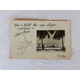 Cartão Postal Aba/film Ceará Jangada 1950