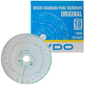 Disco Diagrama Tacógrafo Semanal 125km 7d 70 Unidades Vdo