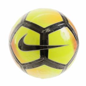 Nike Pitch Soccer Ball Volt laser Orange black 605b2298486ee
