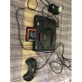 Mega Drive Original Com Cartucho De 10 Jogos (frete Grátis)