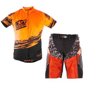 Conjunto Camisa E Bermuda Ciclismo Bike Bicicleta Pro Tork