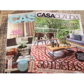 Lote 02 Revistas Casa Claudia Abr 2015 N644 Set 2016 N 661