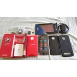 Motorola Z2 Play 64gb + Micro Sd 32gb + 02 Moto Shell
