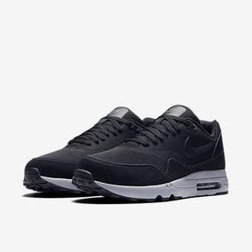 reputable site 1cb98 c483e Zapatillas Nike Air Max 1 Ultra Essential Black Todo Negro