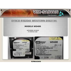 Rigido Western Digital Wd400 De 40gb Interfaz Ide 27